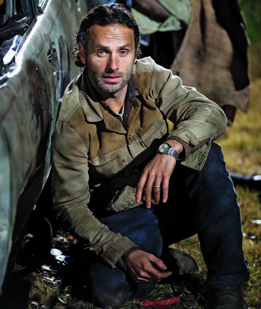 Deputy Sheriff Rick Grimes. Photography: Gene Page/courtesy AMC